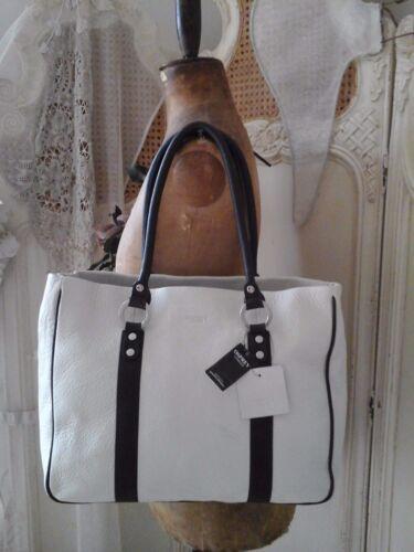 verbergen Tote handtas Designer lederen Osprey Echte nieuw Shopper koe ivoor ~ ~ Oversize wB1yUq