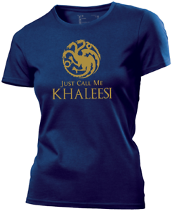 eb921bff6 Image is loading Just-call-me-Khaleesi-Game-of-Thrones-Ladies-