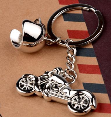 Creative Alloy Metal Keyfob Gift Car Keyring Harley Keychain Key