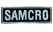 SAMCRO Sons of Anarchy Motorcycle Club Redwood Original Patch Iron on Applique