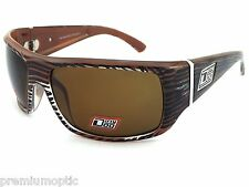 DIRTY DOG Polarised STUMBLE Sunglasses Wood Brown  / Brown POLAR  53261