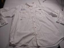 Sigma Alpha Epsilon Kansas State University Columbia PFG White Shirt Mens XL