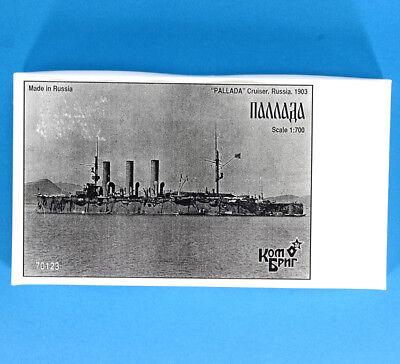 KOMBRIG COMBRIG 70123 resin kit 1/700 PALLADA Cruiser Russia 1903 , NEW