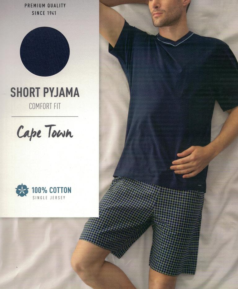 CALIDA Herren Schlafanzug kurz  M - XXL Shorty Baumwolle 42460 Farbe 449 NEU S17