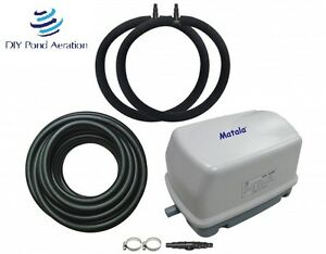 NEW-Fish-POND-Aerator-System-EZPro-3-Aeration-Kit-2-RING-Diffuser-3-YR-Warranty
