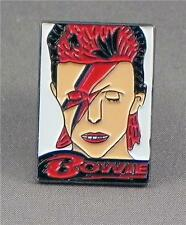Metal Enamel Pin Badge Brooch David Bowie Icon Starman Legend Singer