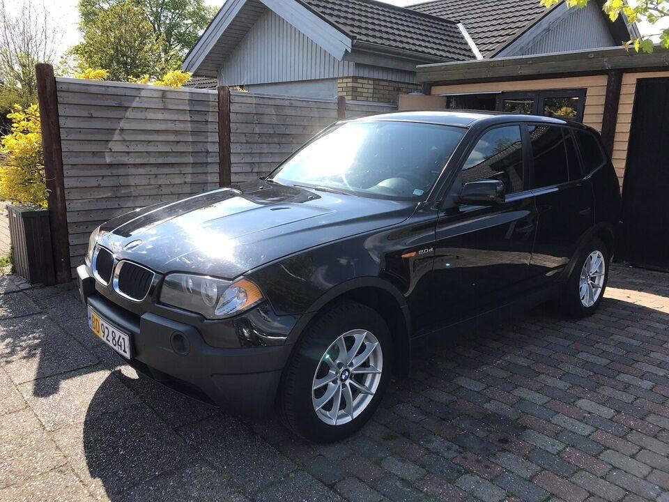 BMW, X3, 2,0 D Van
