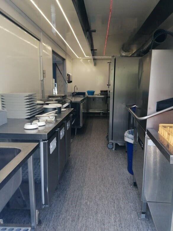 Food trailer - mobilt industri køkken