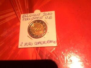 Piece de monnaie De 2 Euro Commémorative Année 2010 Belgique AB