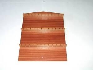 36pc-Wooden-Spoon-Display-Rack-Mahogany-huge-range-see-description