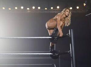Charlotte Flair 8x10 Photo Espn Body Issue Nude WWE NXT WCW ECW AEW NJPW ROH HOH