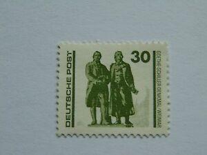 DDR 30 Pfennig(.) Freimarke 1990 mit Plattenfehler Mi 3345 II