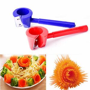 Details about Home Spiral Vegetable Shred Slicer Spiralizer Fruit Cutter  Peeler Kitchen Tools