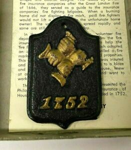 VTG-Replica-Philadelphia-Contributionship-Fire-Insurance-1752-Fire-Mark-Plaque