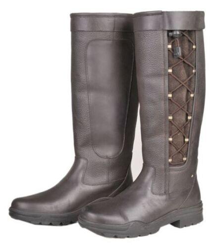 Milan Équitation Femmes extérieure antidérapante Yard stable dentelle pays Walking Boot