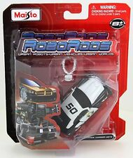 2006 '06 DODGE CHARGER SRT8 POLICE ROBO RODS URBAN ROBOTS MAISTO TRANSFORMERS