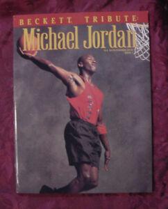 1993-4-BECKETT-NBA-Basketball-Tribute-Magazine-MICHAEL-JORDAN
