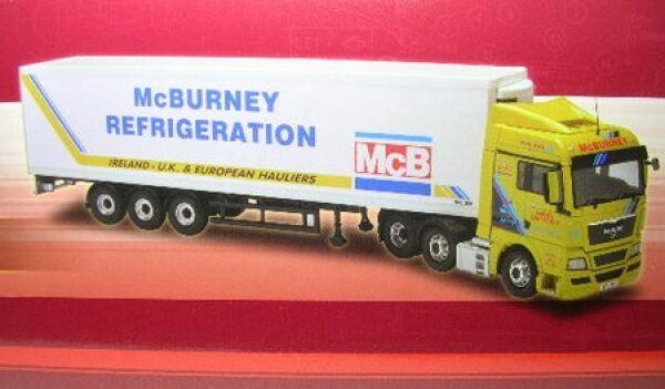 prezzi bassi di tutti i giorni Uomo Tgx Camion Cella Frigorifera Mcburney Mcburney Mcburney Trasporto  perfezionare