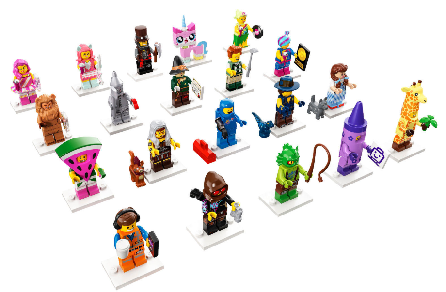 LEGO 71023 SERIES MINIFIGS COLECCIONABLES  The LEGO Movie 2 Minifigures Series