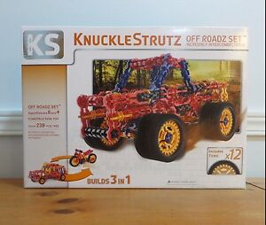 KNUCKLESTRUTZ off Roadz set inter-connectable 3 in 1 construction TOY build NIB