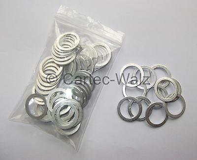 5 Stück Aluminiumring Alu Dichtring Dichtung  6x12x1 mm DIN 7603 Form A
