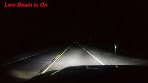 6PC 9005+9006+9145 H10 LED Headlight Fog Bulbs for Jeep Grand Cherokee 2005-2010