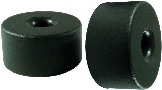 12 Stück Möbelfuß Polsterfuß Möbelgleiter aus Kunststoff 40mm x 20mm