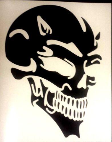 in 43 colours Devil Skull Car Van Window Vinyl graphics sticker Decal Tribal