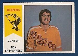 RON CHIPPERFIELD 74-75 WHA O-PEE-CHEE WHA 1974-75 NO 42 NRMINT+  22022