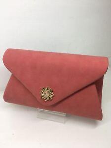 Corallo Borsa Colore Gioiello Pochette Donna Elegante FAqXX0d