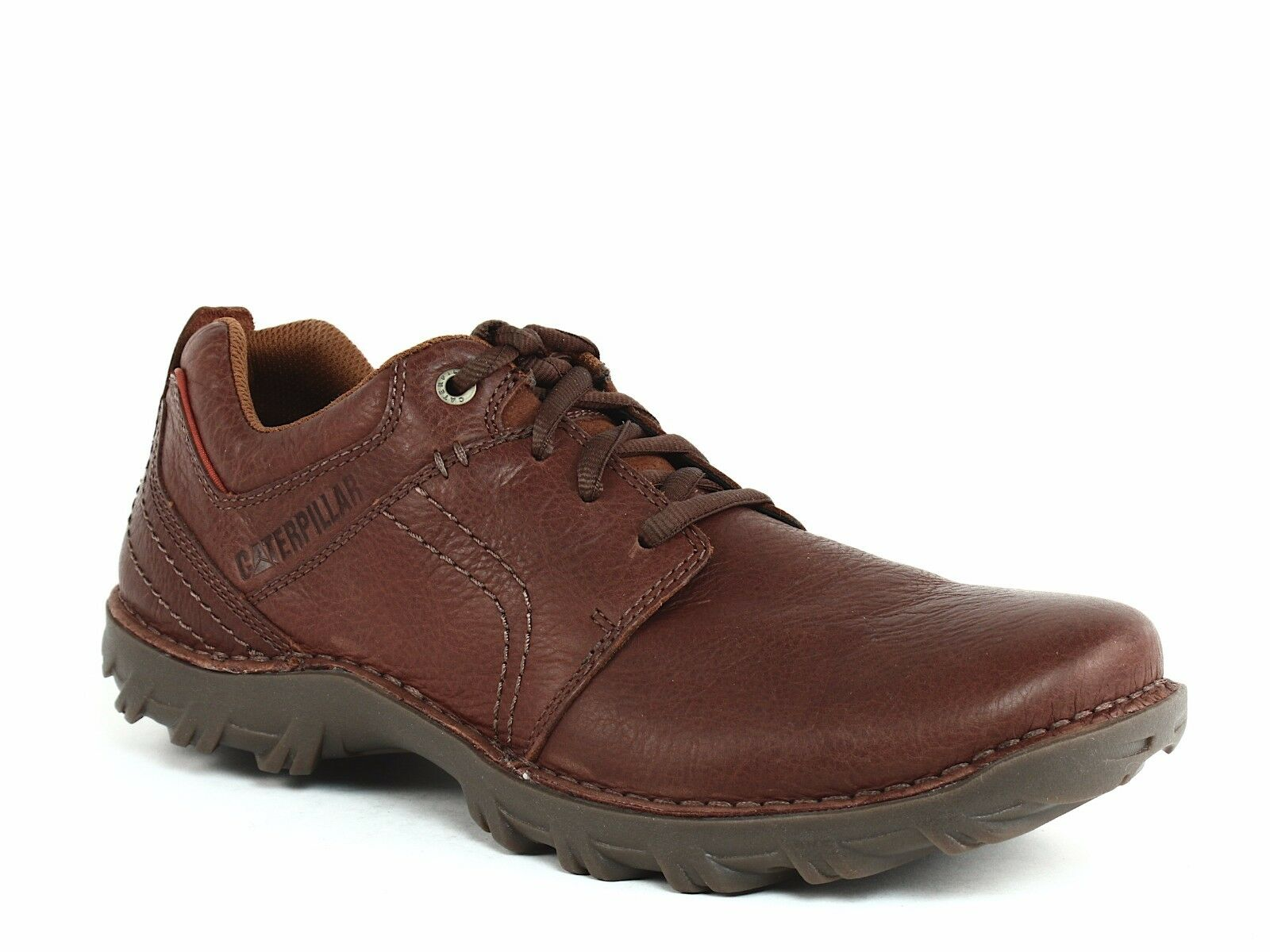 Caterpillar EMERGE Oxford Mens Work Casual Ginger Bread Leather shoes