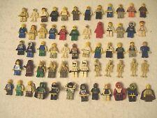 LARGE MIXED LEGO MINI FIGURE LOT WEAPONS STAR WARS PIRATES NINJA RARE RETIRED!!!