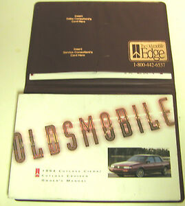 GM-1994-Olds-Cutlass-Cierra-Cruiser-Owner-039-s-Manual