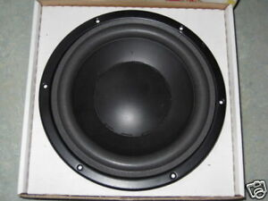Foam-rings-for-9-inch-Dynaudio-24W100-24W75-etc-incl-glue-free-postage-in-UK