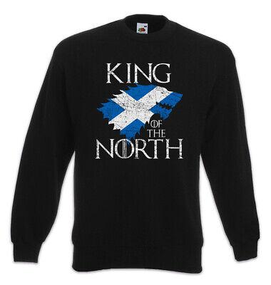 King In The North Sweatshirt Pullover Game of Schottland Fun