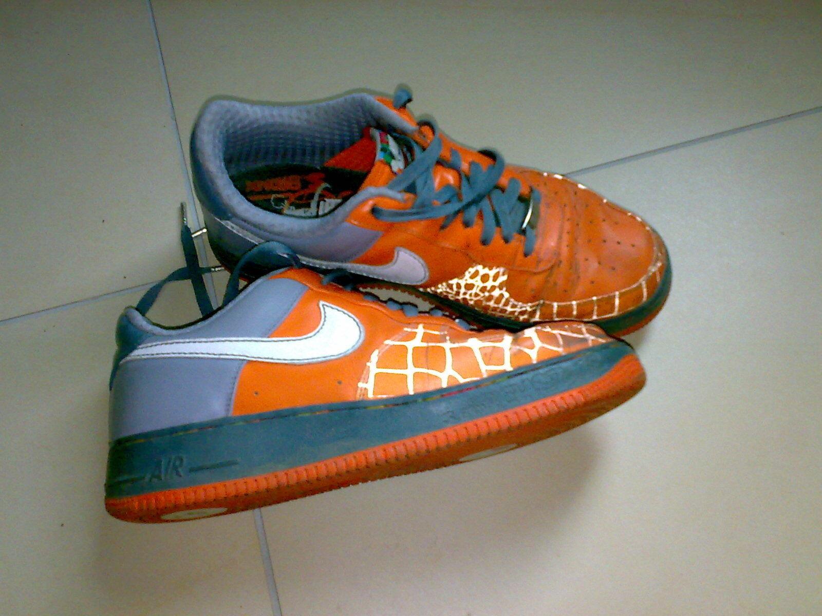 Nike Air Force One Low Gr. 44- Orange
