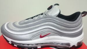 air max 97 scarpe silver