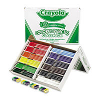 Crayola Colored Woodcase Pencil Classpack 3.3 Mm 12 Assorted Colors/box 688024 on sale