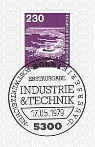 Marque De Tendance Rfa 1979: Aéroport De Francfort/main Nº 994 Avec Le Bonner Cachet Spécial! 1a! 156-afficher Le Titre D'origine