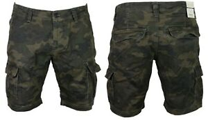 DML-Mens-Summer-Cargo-Shorts-Combat-Camo-Army-Casual-3-4-Pants-Waist-Size-28-38
