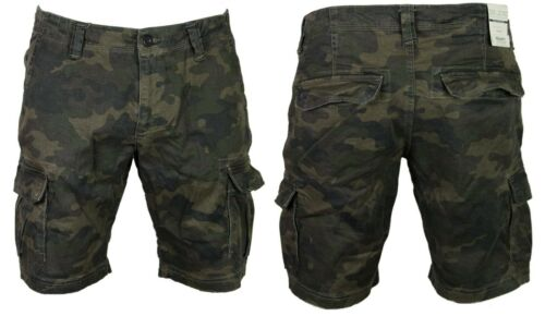 DML Mens Summer Cargo Shorts Combat Camo Army Casual 3//4 Pants Waist Size 28-38