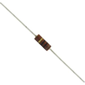 Carbon Composition Resistance: 150 kΩ Package of 5 Resistors 0.5 Watt