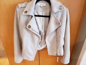 Xs Grey Suede Jenn Jacket John IqwxHOfCf