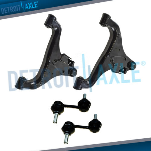 Front Lower Control Arms Sway Bars for 2004-2010 QX56 Nissan Titan Armada