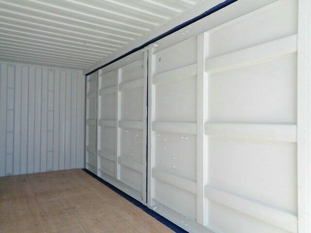 20' Open Side container