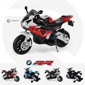 BMW S1000RR 12v Kids Electric Ride On Bike Motorbike Official Licensed BMW Bikes