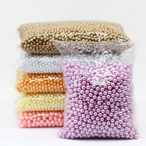 3-4-6-8mm-assorted-No-Hole-Round-Pearl-loose-Acrylic-beads-crafts-jewelry-making