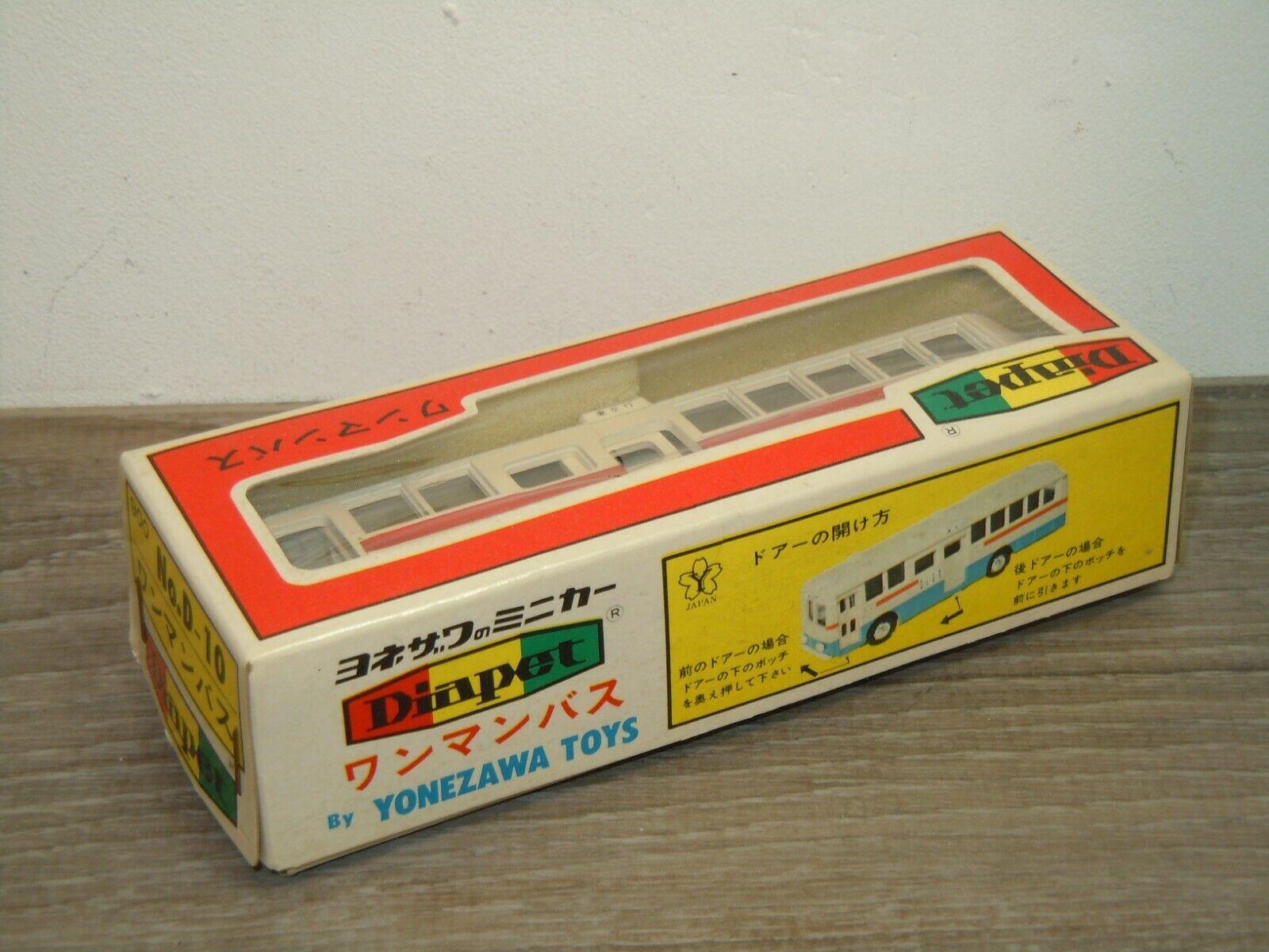 City Bus van van van Diapet Yonezawa Toys D-10 Japan in Box 36690 442464