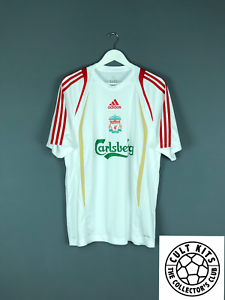 new product 8e477 57e7f Details about LIVERPOOL 06/07 Adidas Training Shirt (L) Soccer Jersey  Football Top