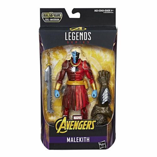 Marvel avengers legends Series 6 In environ 15.24 cm Malekith construire une figure de réforme Obsidienne
